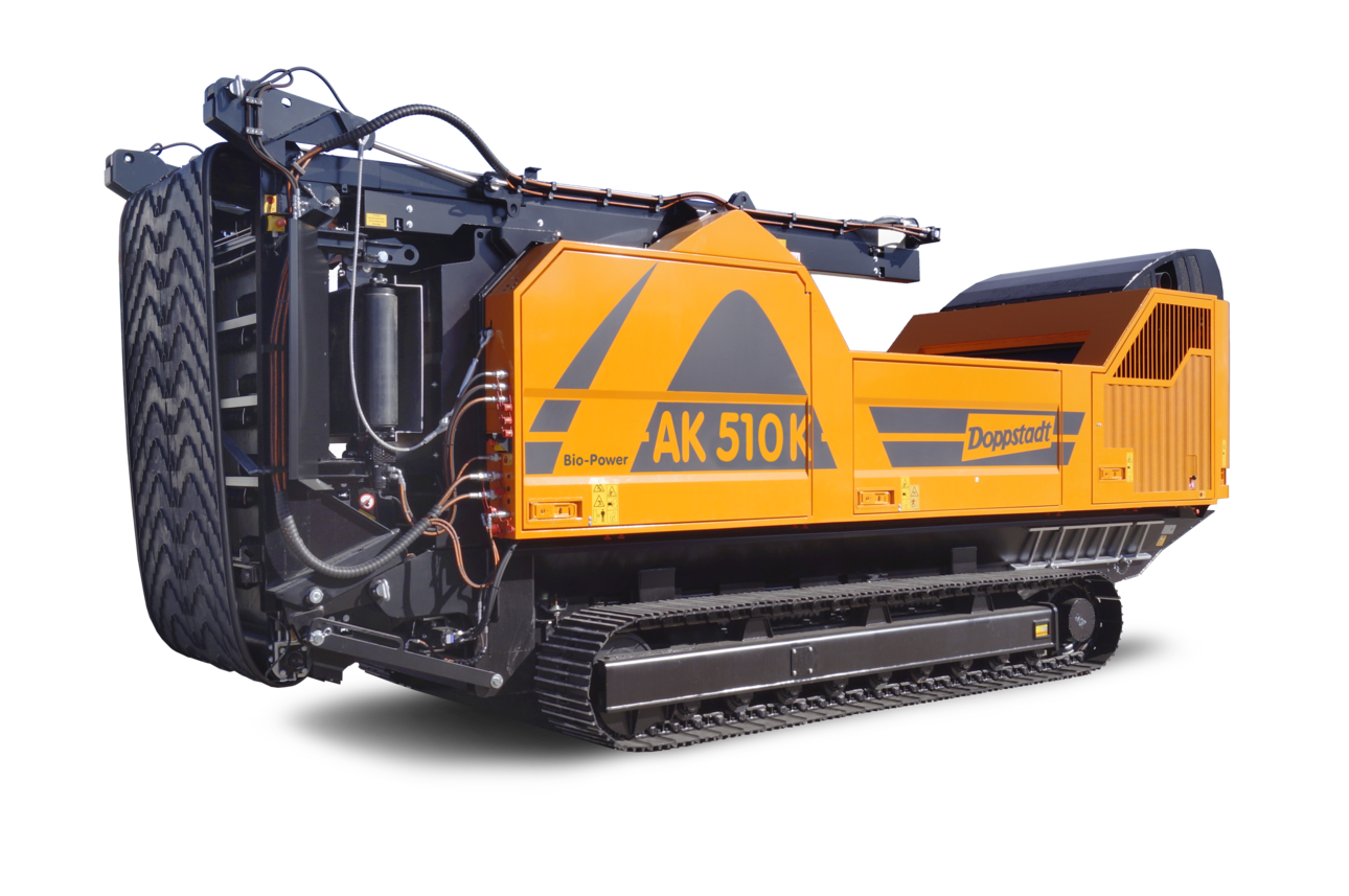 移動クローラ式木材破砕機 AKシリーズ