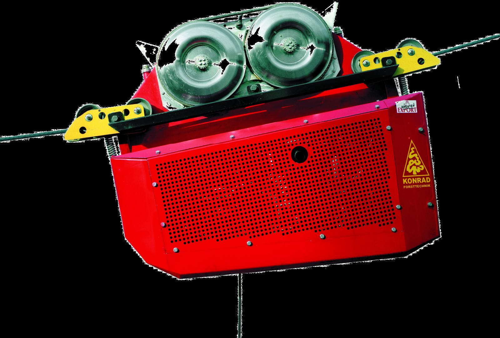 高性能自走式搬器 ウッドライナー 林業機械