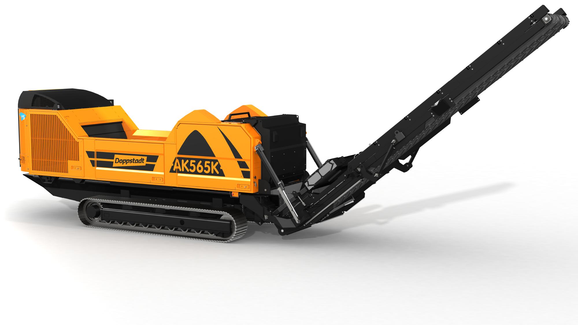 木材用大型破砕機ドップシュタット製 AK565K
